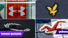 Can you name all 15 of these clothing brand logos?
