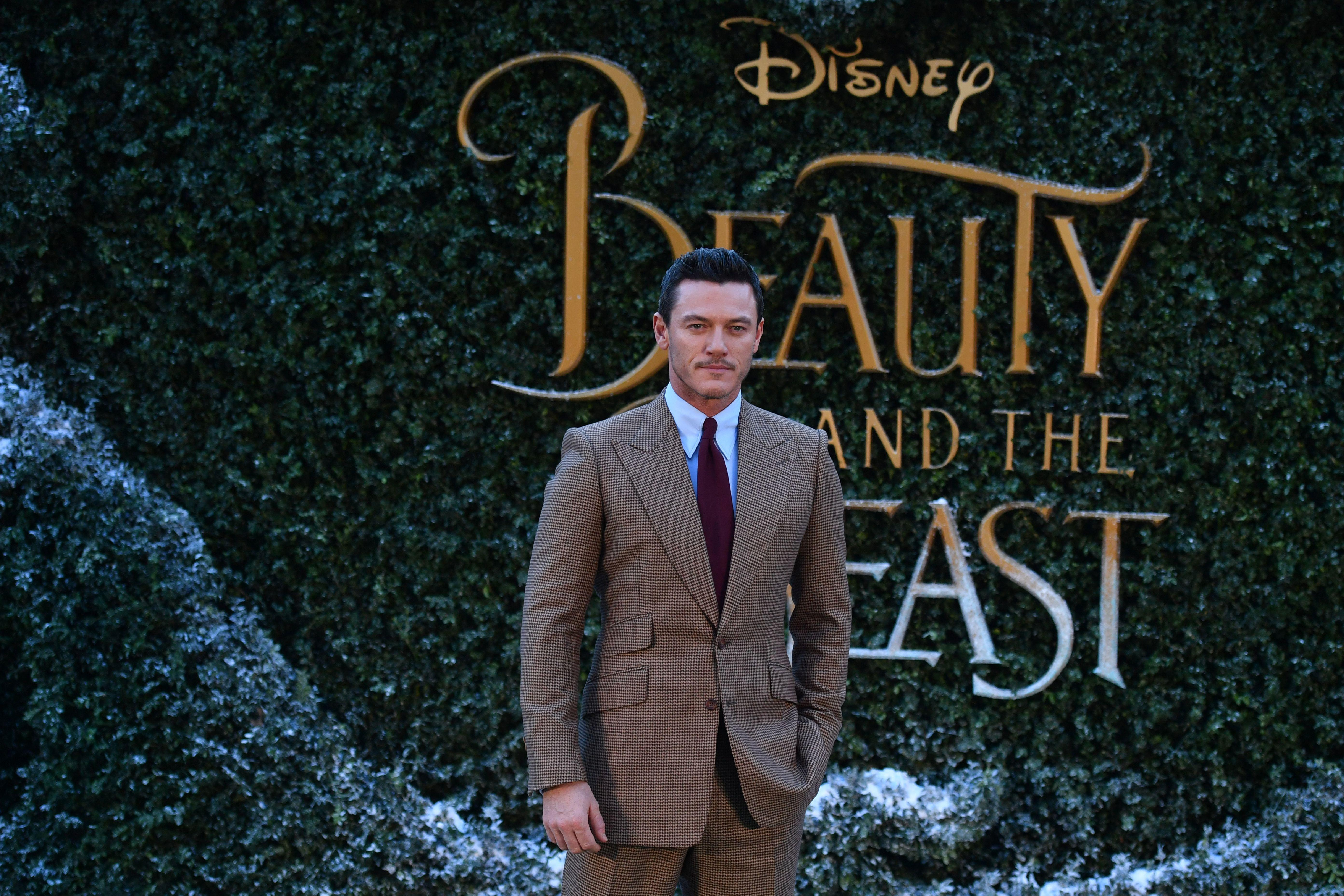 Watch A New Clip From Beauty And The Beast Featuring Gaston Lefou Raisa Font College Navy M