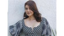 Of Gingham And Stripes, Kajal Aggarwal's Dress Will Inspire You To Play With Patterns