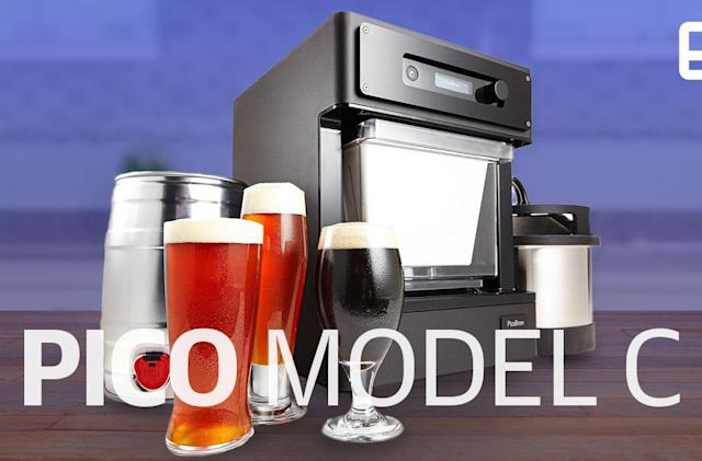 PicoBrew tries to make countertop beer brewing affordable