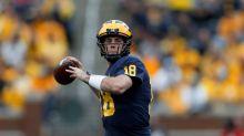Reports: Michigan QB Brandon Peters pursuing a transfer