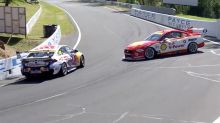 'I went sh*t': Rivals in nasty practice collision at Bathurst 1000