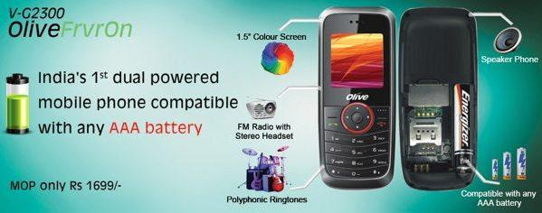 Olive Telecom India announces AAA-powered handset