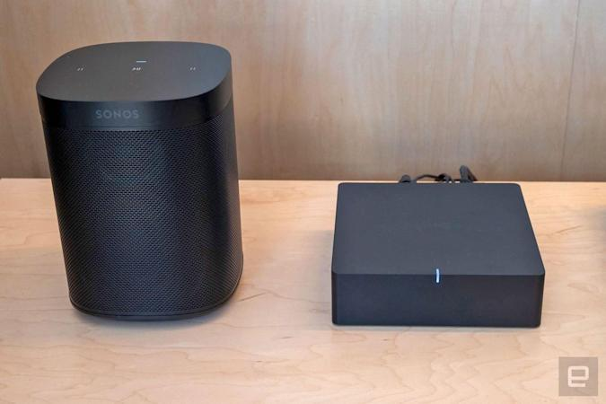 The Sonos One SL is a microphone-free version of its most accessible speaker