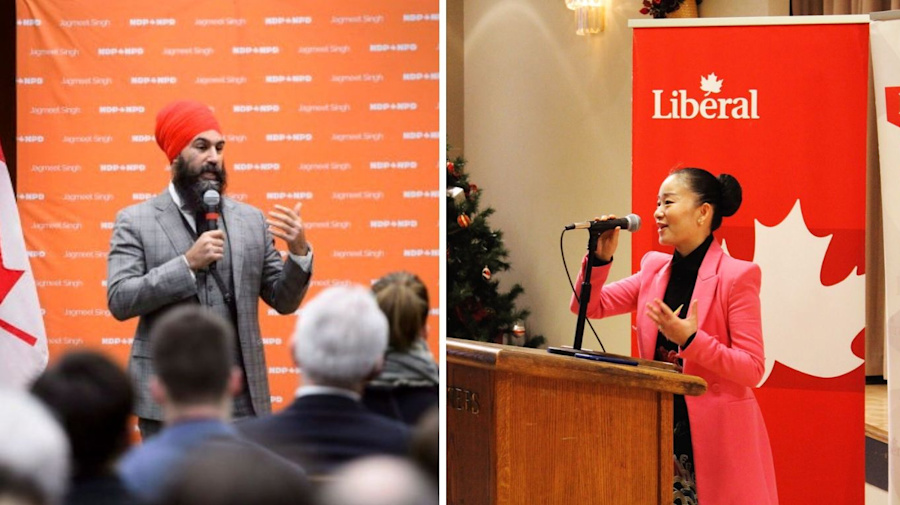 Liberal candidate out of B.C. byelection over Singh comment