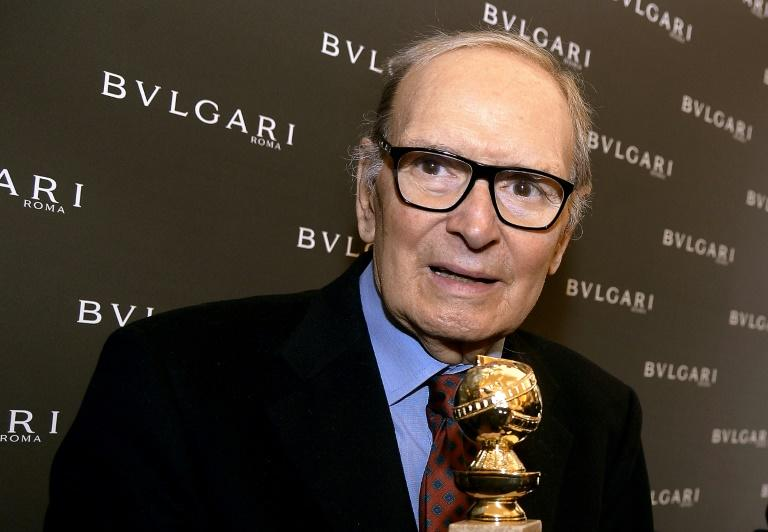 Ennio Morricone wrote more than 80 classical pieces but didn't mind being famous for his film scores (AFP Photo/Filippo MONTEFORTE)