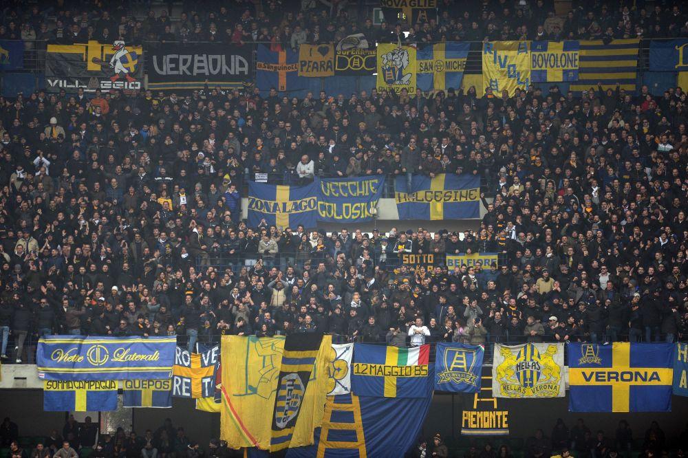 Cori razzisti contro il Vicenza, Curva del Verona chiusa un turno