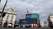 London's Piccadilly Circus Seen Quiet Amid Coronavirus Lockdown
