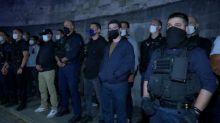 Paris: nouvelle manifestation nocturne de policiers en colère