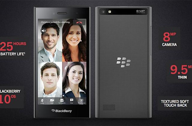 BlackBerry aims at young professionals with the low-cost Leap