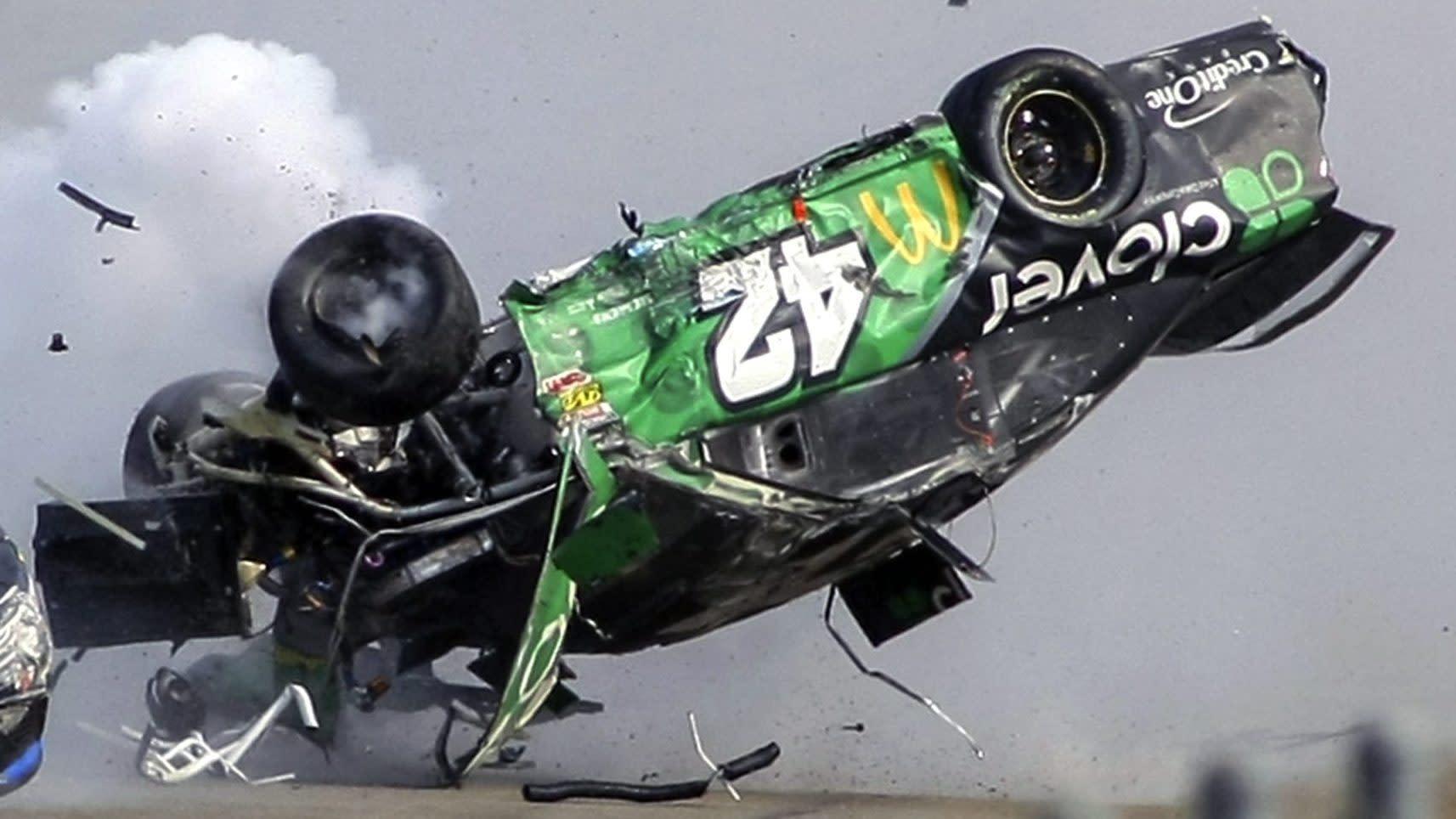 NASCAR releases findings from Kyle Larson's crash at Talladega