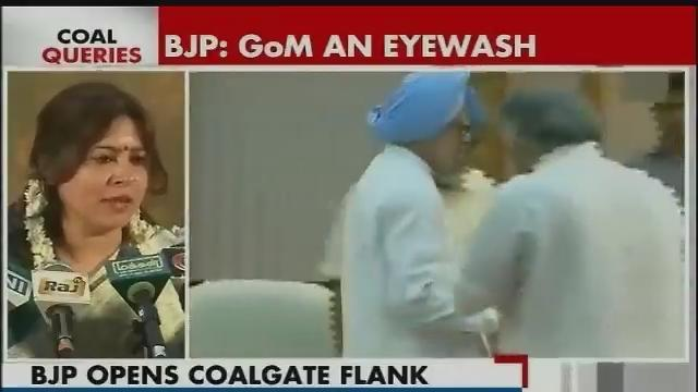 BJP slams govt on its decision to form GoM on Coalgate