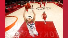 Devin Booker scores 16 points in first Olympic win with U.S.A men's basketball