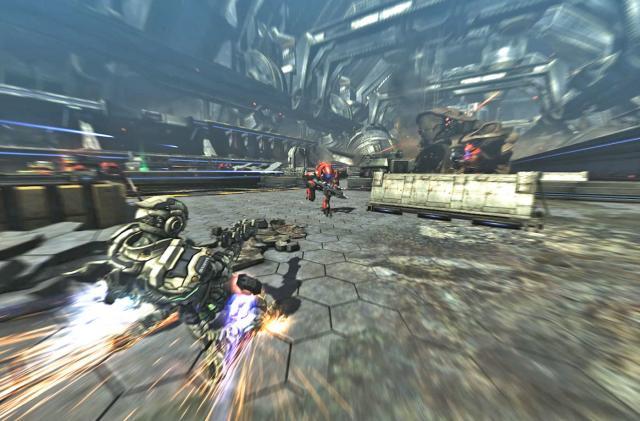 Cult action game 'Vanquish' powerslides its way onto PCs