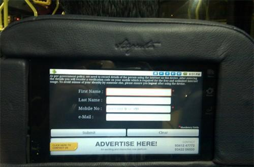 Android tablets bring touchscreen connectivity to Indian bus riders -- still no $35 slates in sight (video)
