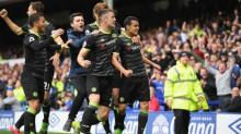 Chelsea close in on title as Pedro sparks emphatic win against Everton