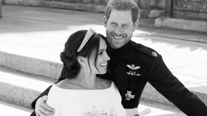 Harry and Meghan's official wedding portraits