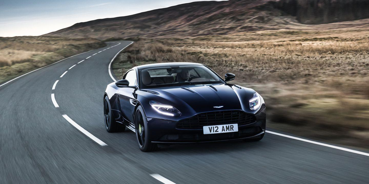the 2019 aston martin db11 amr is a 630-hp v-12 stunner