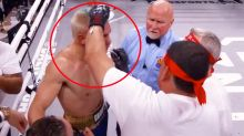 'Disgrace to the sport': Boxing world explodes over 'shameful' moment