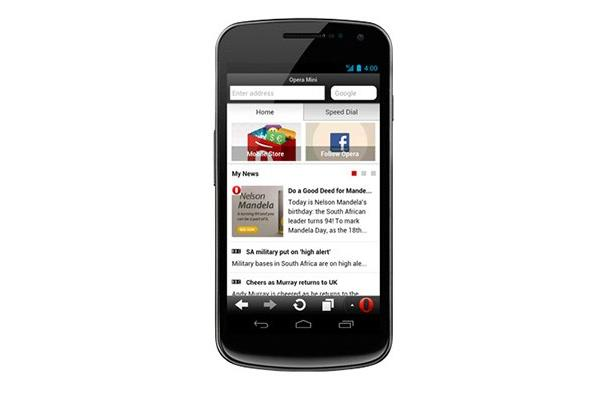 Opera Mini 7.5 update for Android adds Smart Page for social and news updates