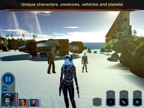 Star Wars: Knights of the Old Republic now available on iPad for $10