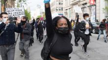 Protest against anti-black racism, police impunity in Montreal turns violent