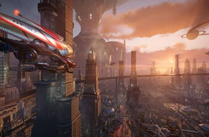 Allods Team and Obsidian unveil Skyforge announcement trailer