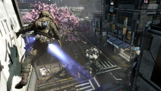 Titanfall gameplay launch trailer prepares you for a mech drop