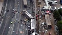 Train driver a suspect in possible 'recklessness'