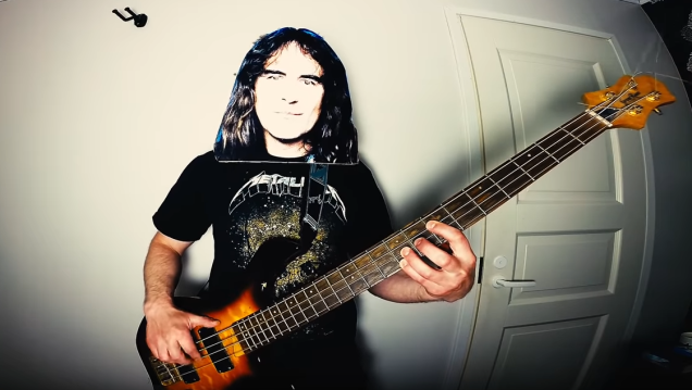 """Man continues quest to cover """"Enter Sandman"""" as every other metal band with Iron Maiden version"""