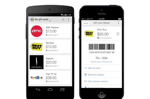 Google's Wallet apps now handle your gift cards