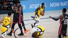 'No immediate concerns' for Victor Oladipo after eye poke, early exit in Game 1 loss to Heat