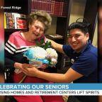 Joy in retirement centers during quarantine