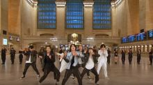 BTS Rock Grand Central Station in 'On' Performance for 'Tonight Show'