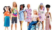 Barbie gets more diverse: Mattel unveils dolls with no hair, vitiligo