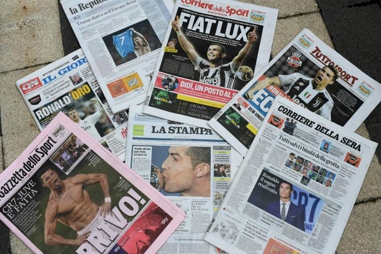 Italy's Di Maio eyes curbs on newspapers' ad revenues