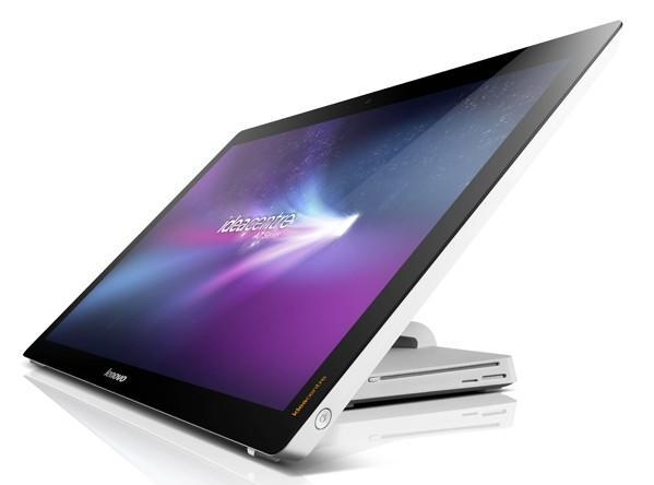Lenovo announces IdeaCentre A720 all-in-one with a multitouch display that lies nearly flat