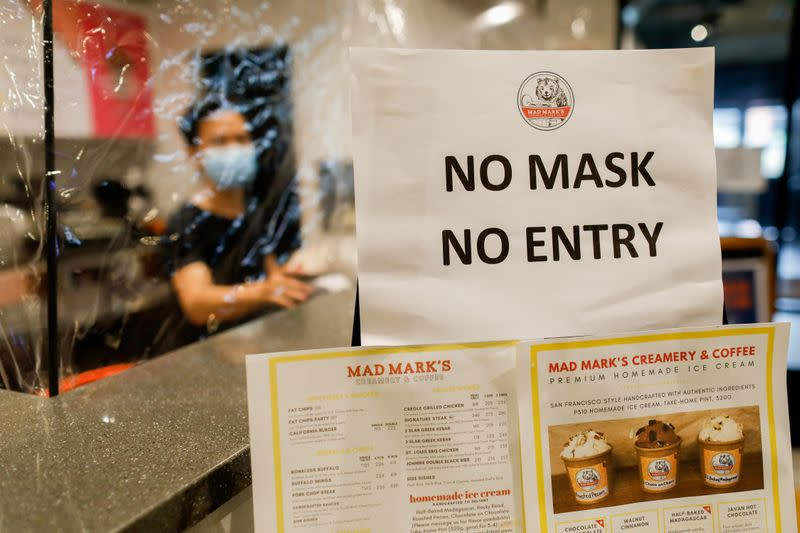 FILE PHOTO: Food deliveries amid the coronavirus disease (COVID-19) outbreak in Manila