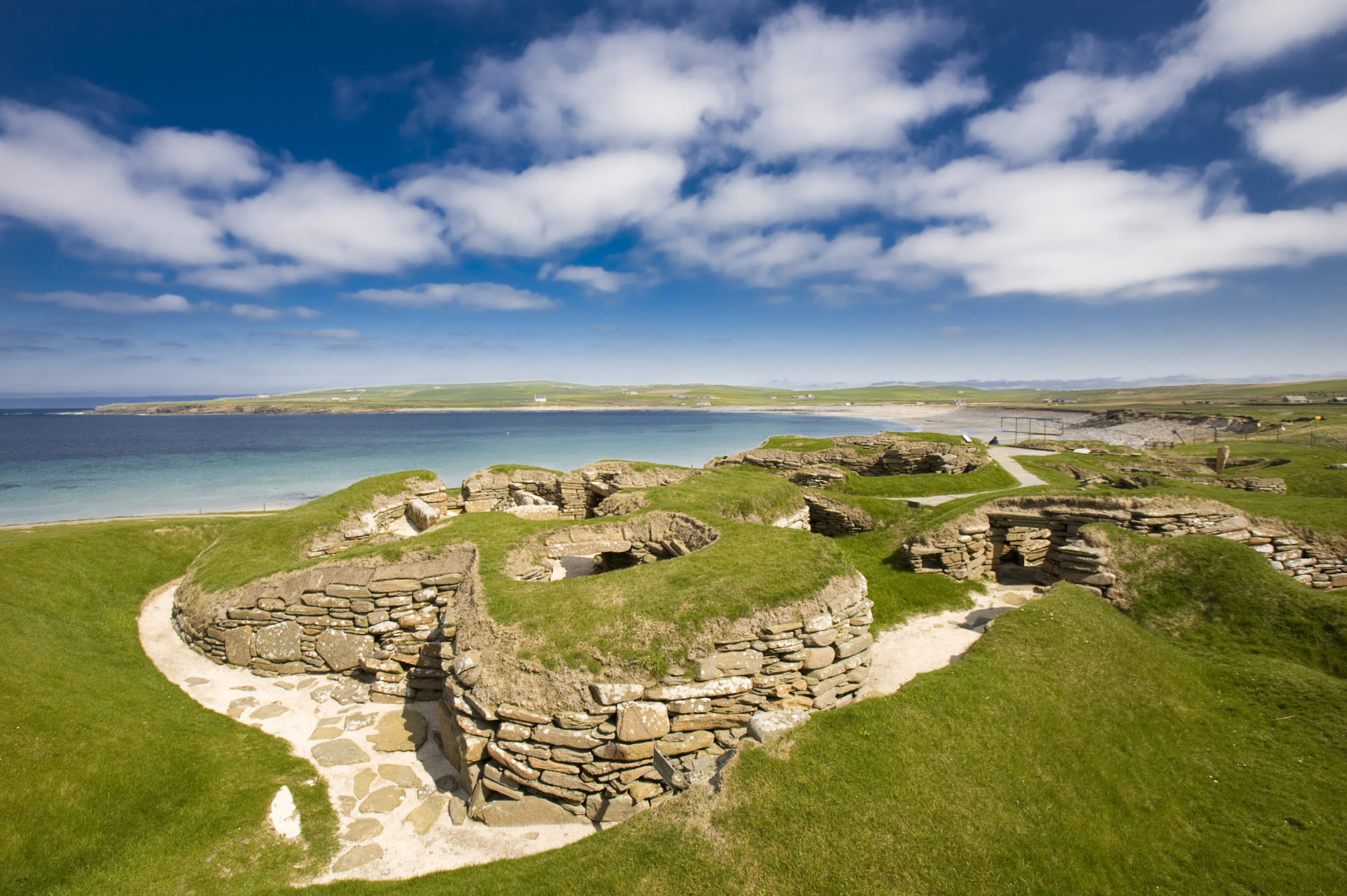 <p>Thisis the main island of the Orkneys and 75 per cent of the islands' population live there. Make the mainland your base as you explore the 70 other islands that make up the archhipelago off the north Scottish coast.</p>  <p></p>