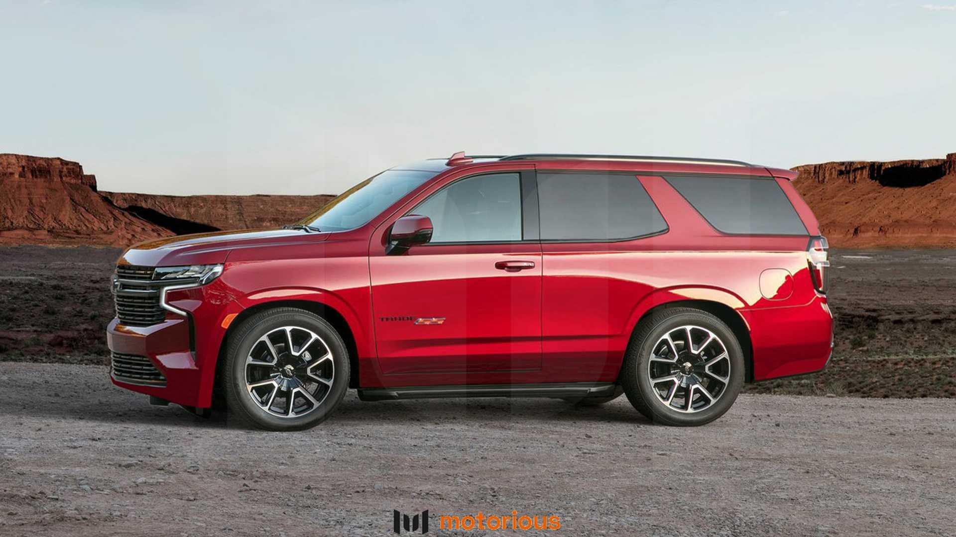 2021 chevrolet tahoe reimagined with twodoor zr2 ss