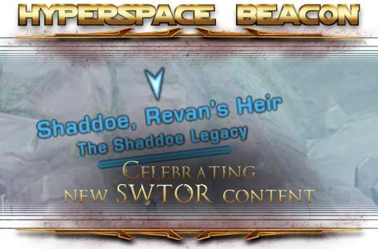 Hyperspace Beacon: Celebrating new SWTOR content