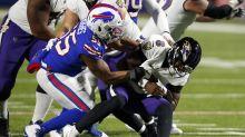 Josh Allen has help: Bills defense is dominant in win over Lamar Jackson, Ravens