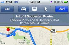 If Siri were paired with a GPS app