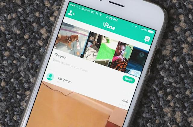 Vine adds new 'For You' channel across the top of your feed
