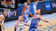 128-116. Harden vuelve con un doble-doble y Nets ganan a Spurs