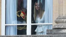 Ivanka Trump and Jared Kushner Join the President at Buckingham Palace on U.K. Visit as Thousands Prepare to Protest