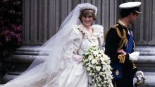 Princess Diana's secret second wedding dress