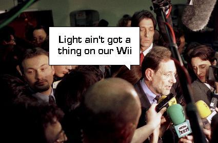 Nintendo: sunlight is no big deal