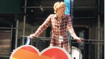 Chelsea Manning attends first LGBT Pride event as a free woman