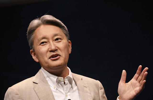 Sony's Kaz Hirai: 4K and HDR are here, robots are coming